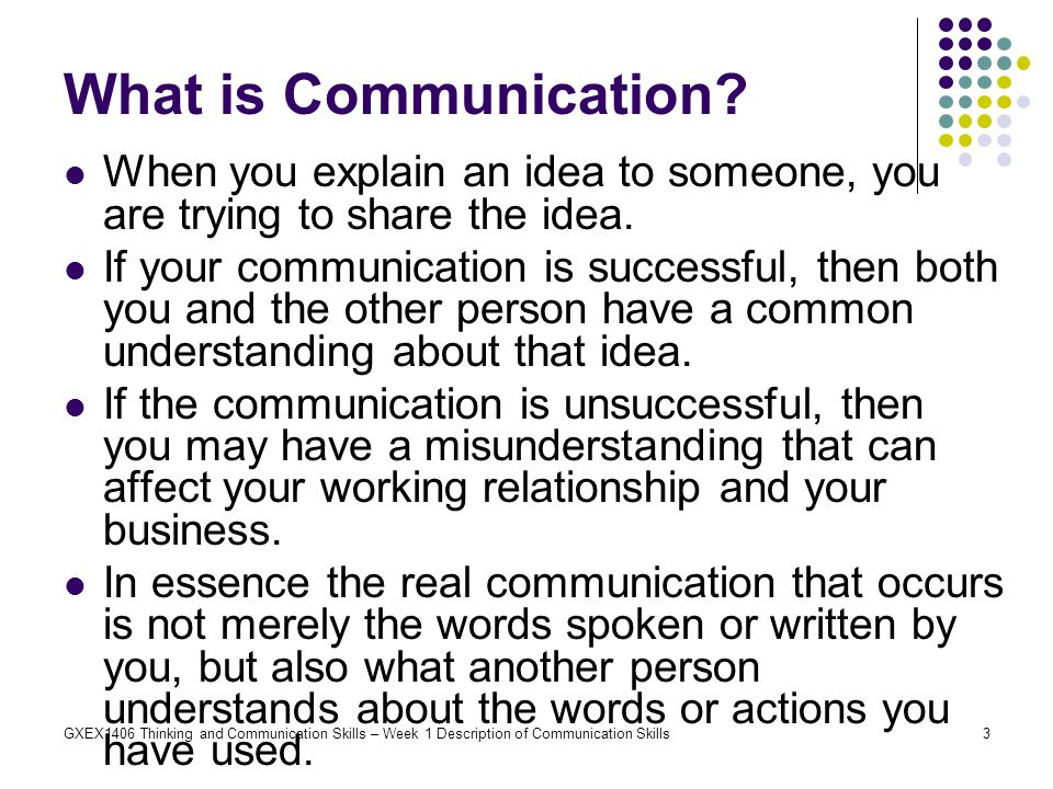 what is communication skills pdf