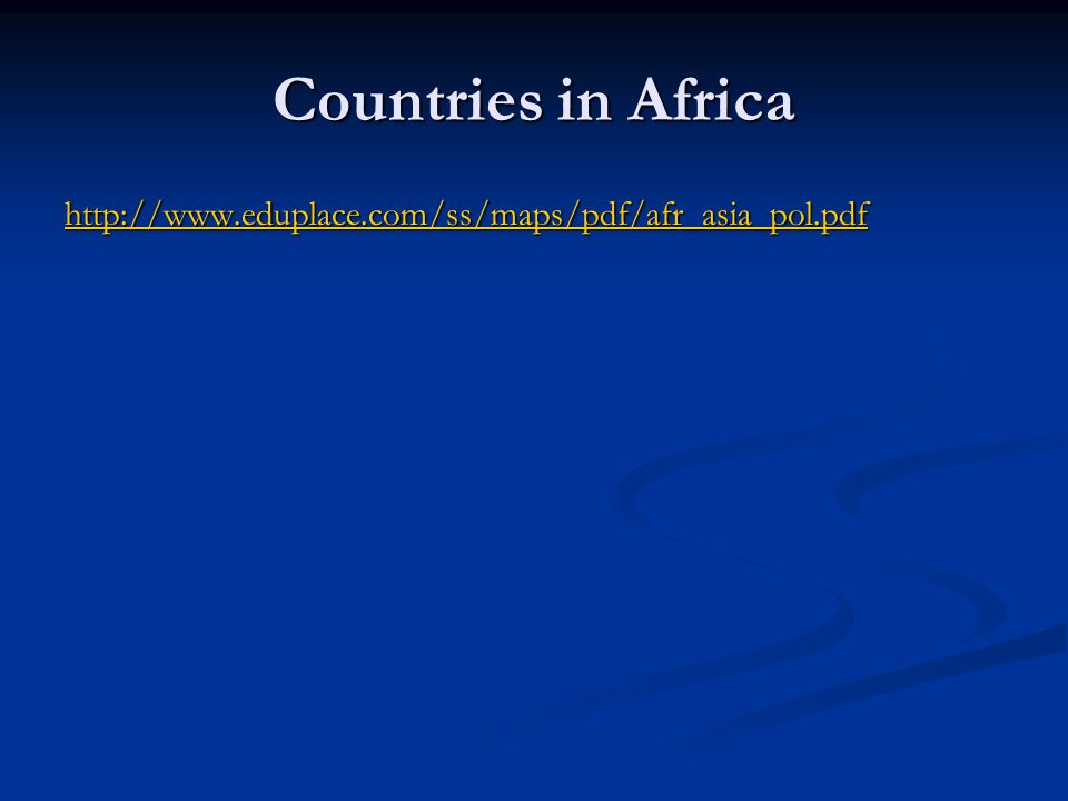 Continents Countries and Capitals ppt download