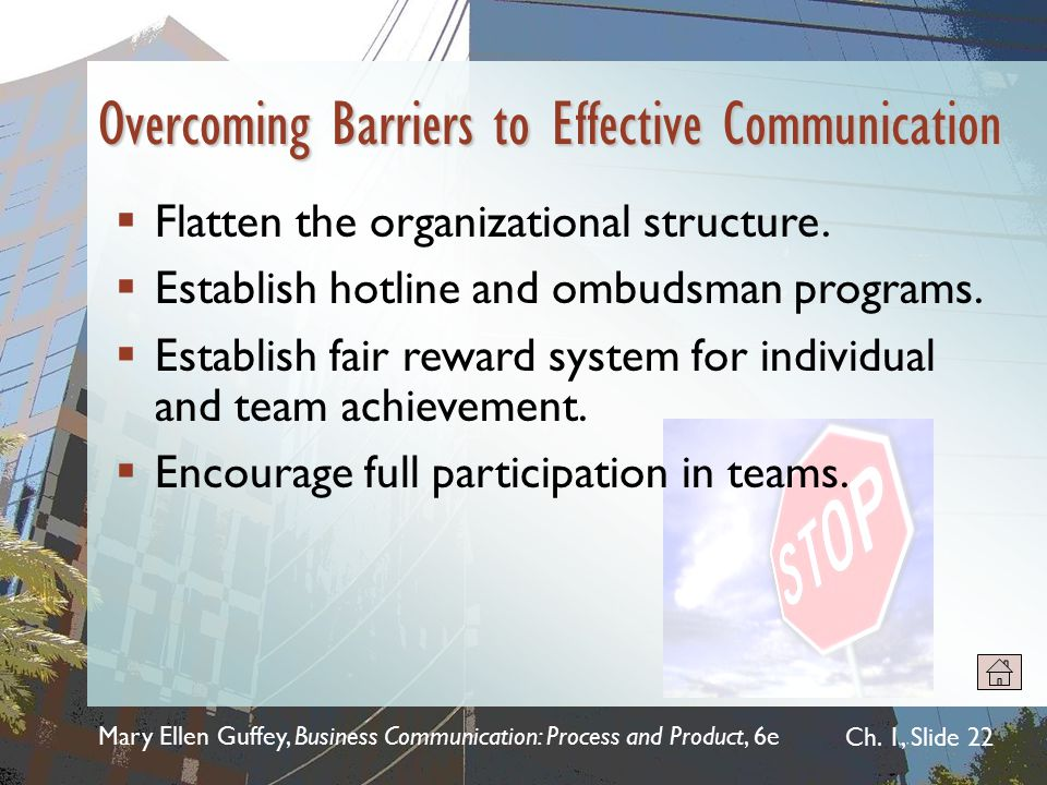 Overcoming Barriers to Effective Communication
