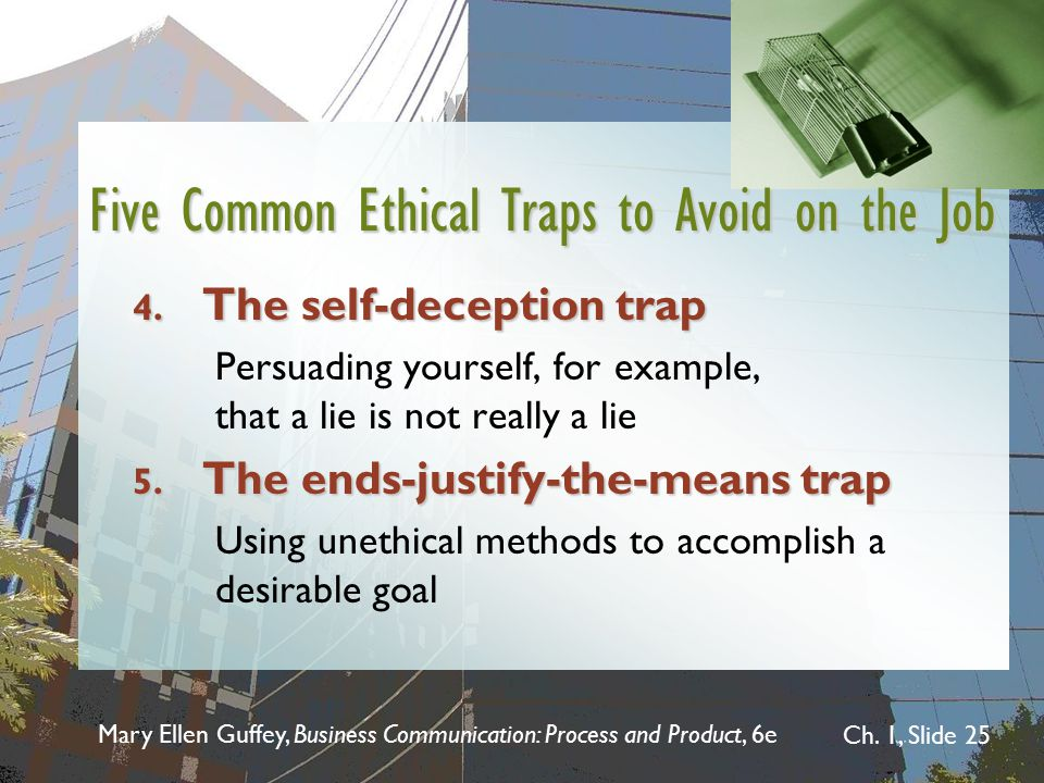 Five Common Ethical Traps to Avoid on the Job
