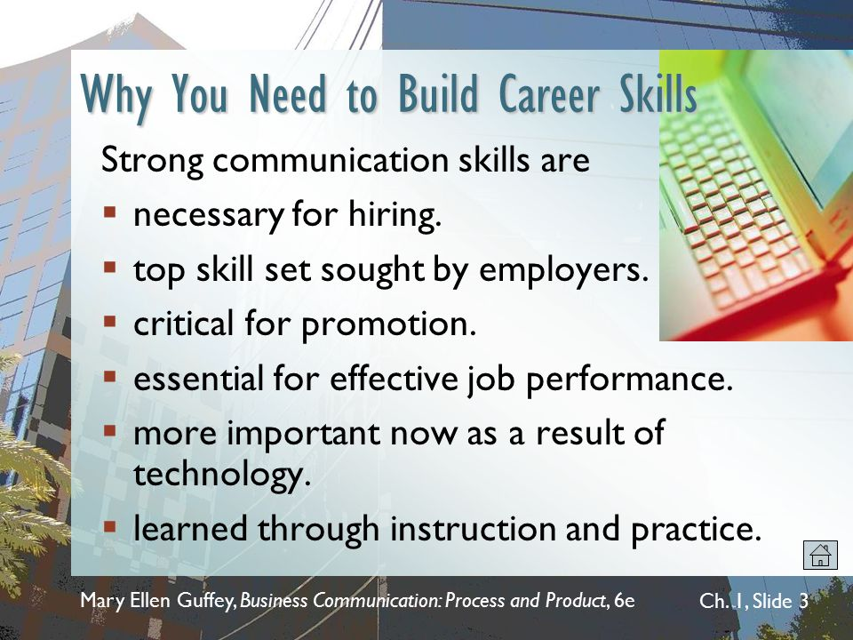 Why You Need to Build Career Skills