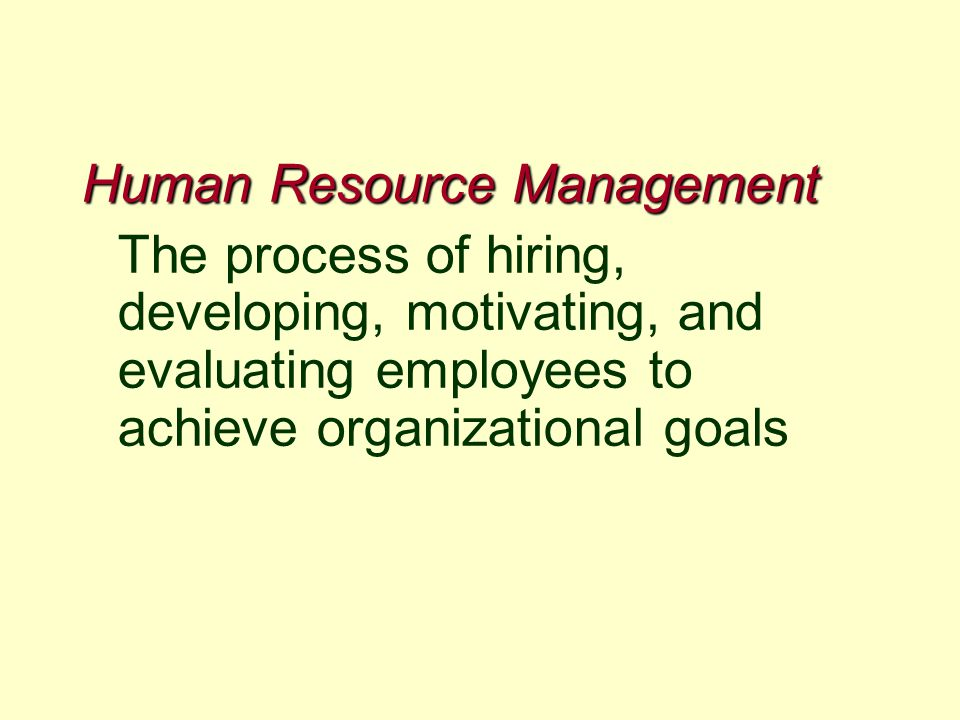 how does human resource planning contribute to achieving goals Start studying chapter 2 hrm  that will increase the likelihood of achieving those goals  the pattern of planned human resource deployments and.