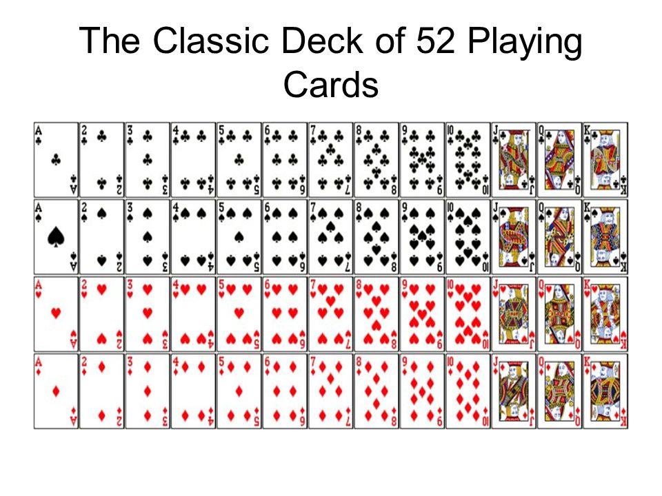 Maths: Card probability. Starter worksheet by Tristanjones ...
