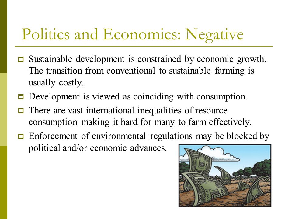 Politics and Economics: Negative