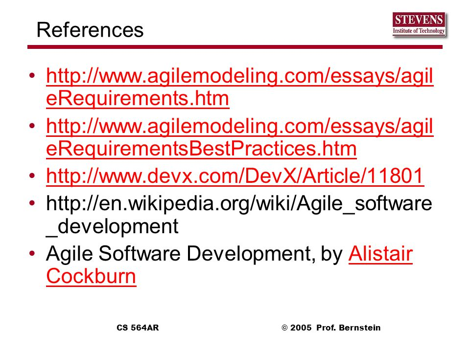 Agile Software Development, by Alistair Cockburn