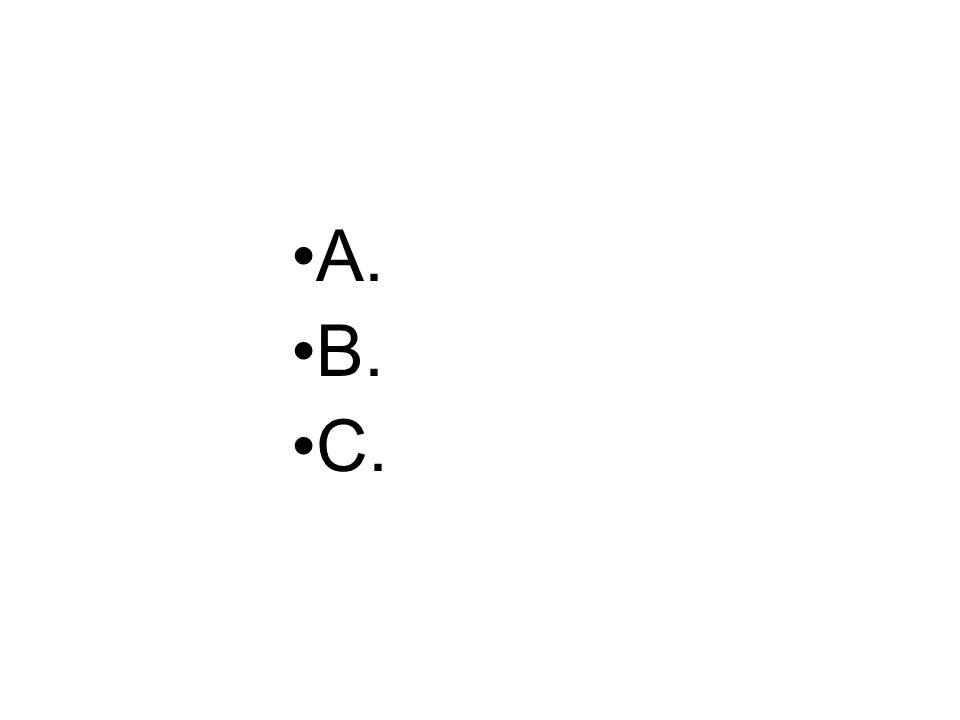 A. B. C.