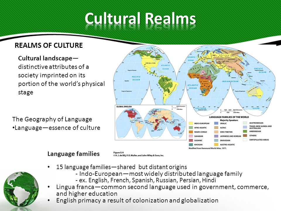 Cultural Realms REALMS OF CULTURE