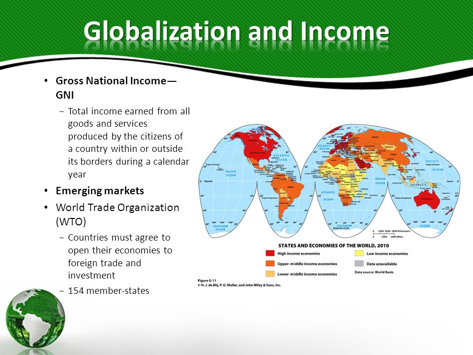 Globalization and Income