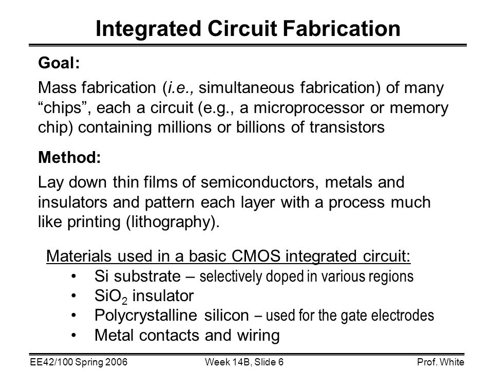 an analysis of the raw material most often in integrated circuit fabrication Photonic integrated circuit photonic integrated circuit (ic) market analysis by and detectors), integration (monolithic, hybrid, and module), raw material.