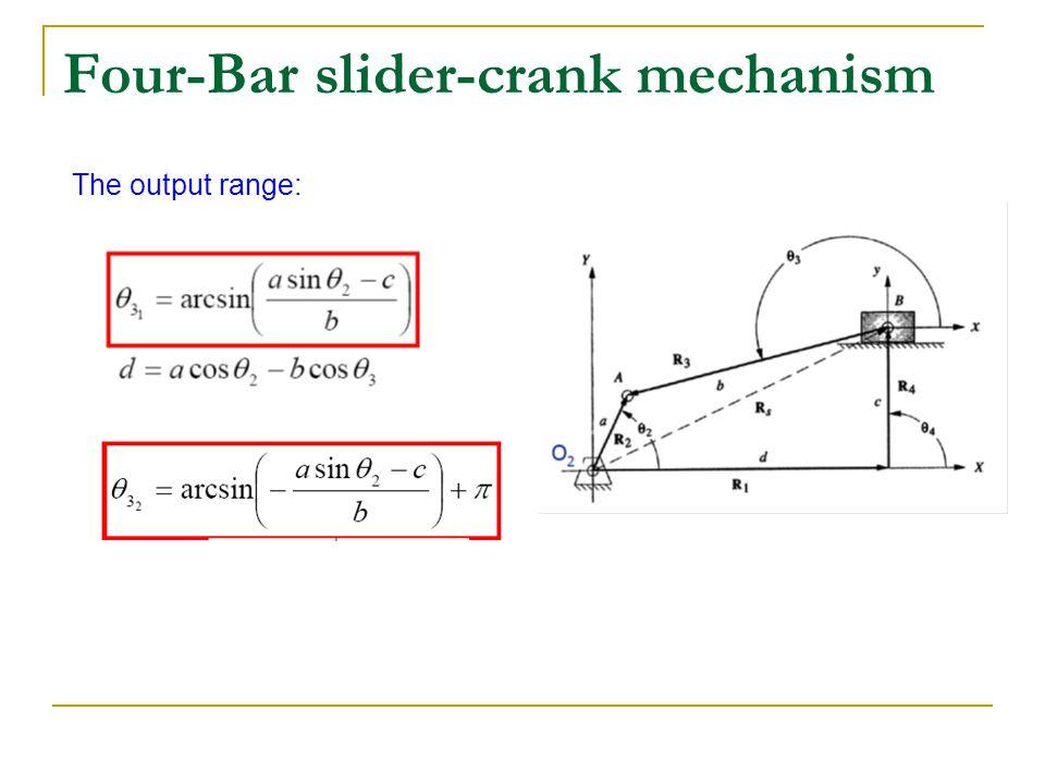 Slider Crank Calculator