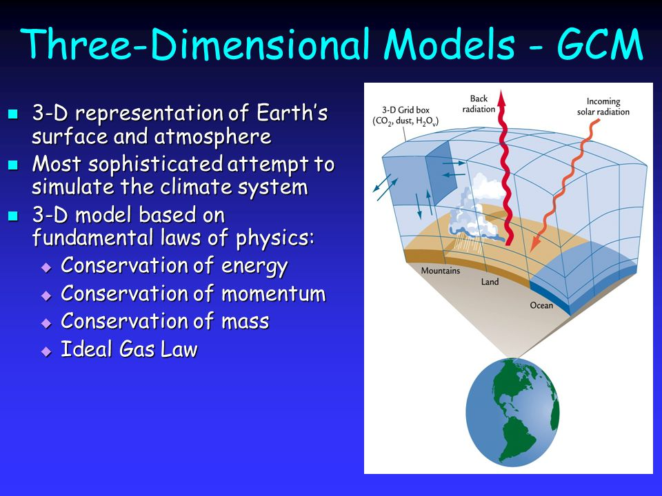 energy conservation model physical climate models ppt video online download