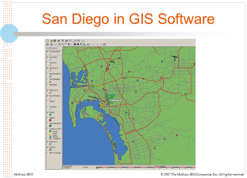 San Diego in GIS Software