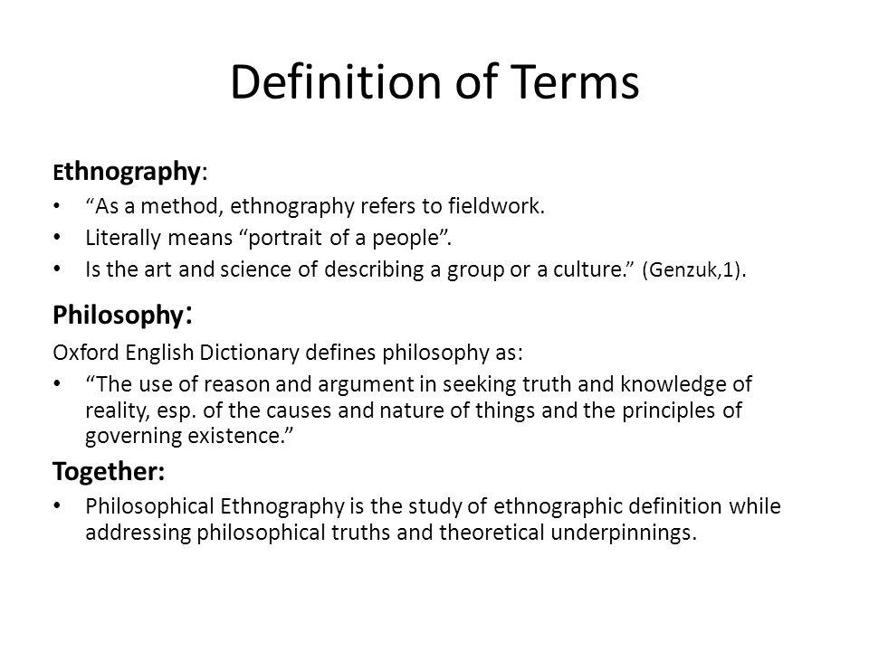 Ethnography - YouTube
