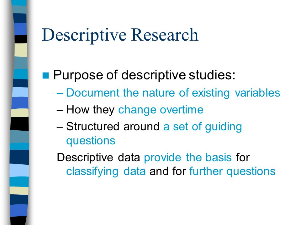 What Is the Meaning of the Descriptive Method in Research?