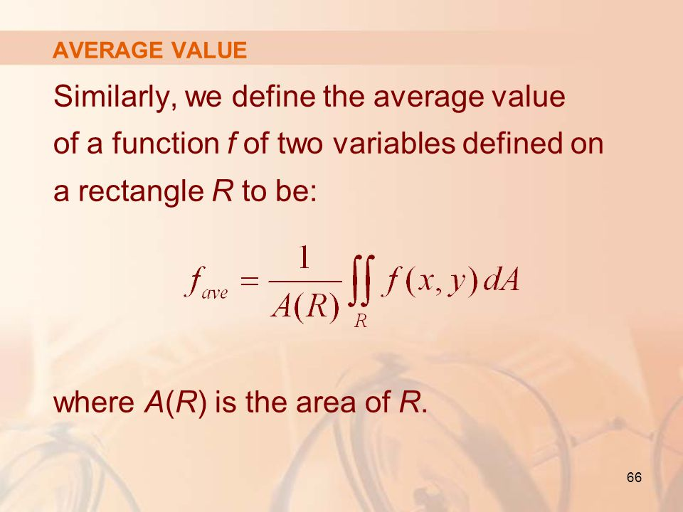 where A(R) is the area of R.