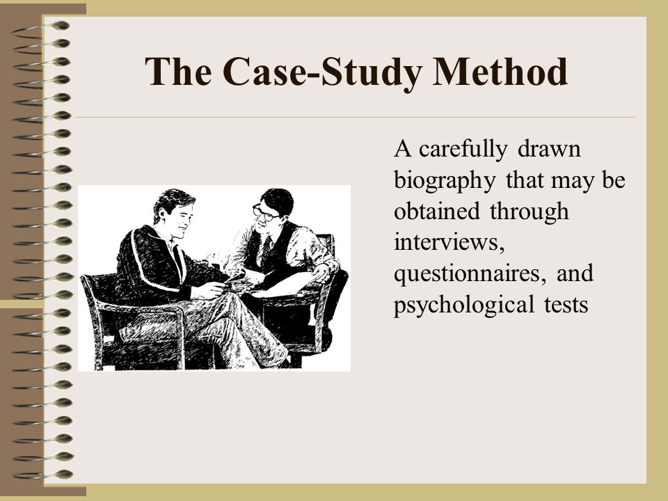 biographical case study and personality study Initially his studies focussed on psycho-linguistics, personality and individual and  cultural differences  2004, negelected strategies of research: case studies.