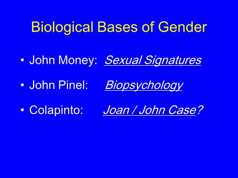 psychology gender identity and colapinto As nature made him has 5,725 ratings and 655 reviews  upon the recommendation of an expert in gender identity & sexual reassignment  colapinto does a good job.