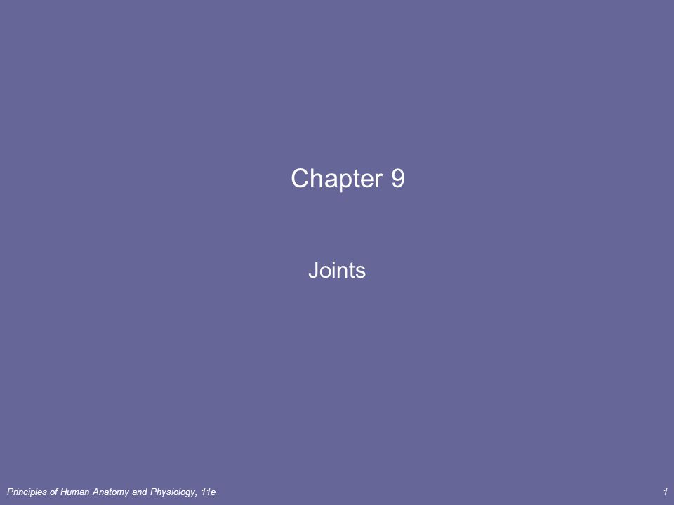 Chapter 9 Joints. - ppt video online download