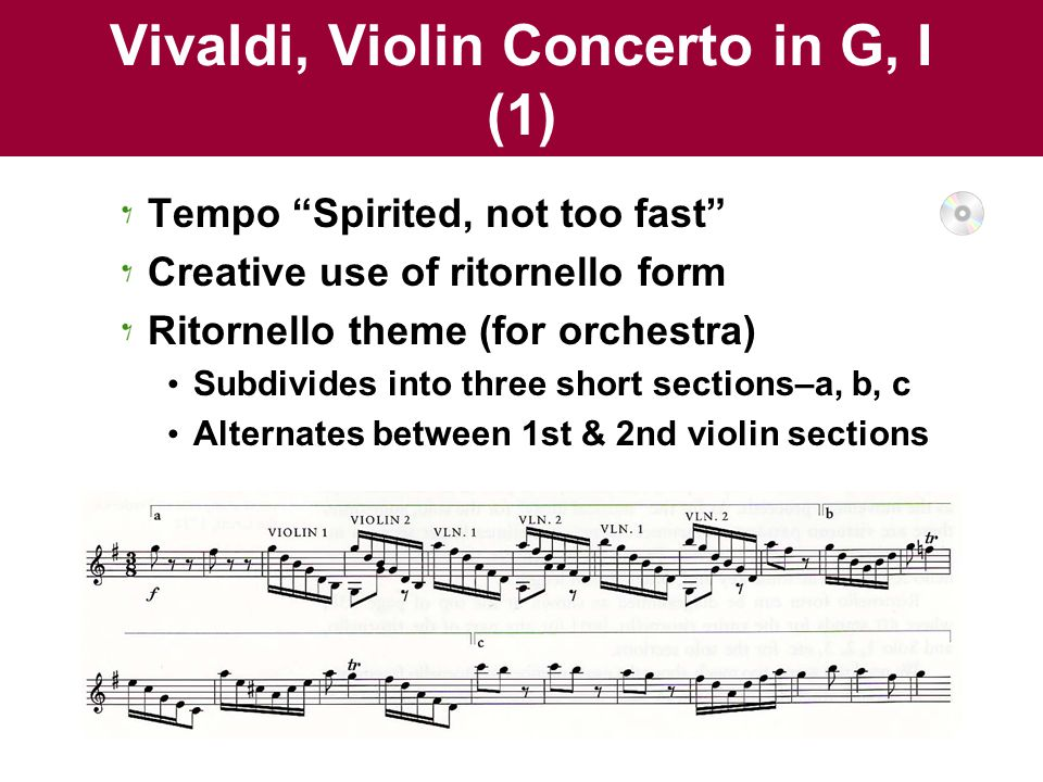analysis of vivaldi violin concerto in g op 4 no 12 i and ii X exclude words from your search put - in front of a word you want to leave out for example, jaguar speed -car search for an exact match put a.