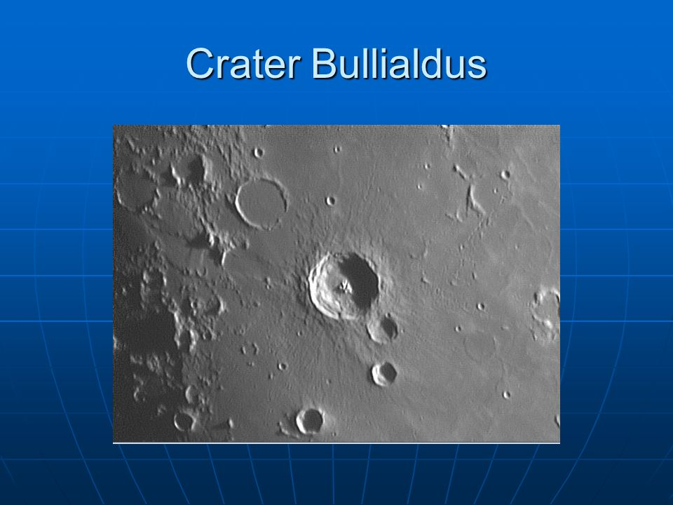 Crater Bullialdus