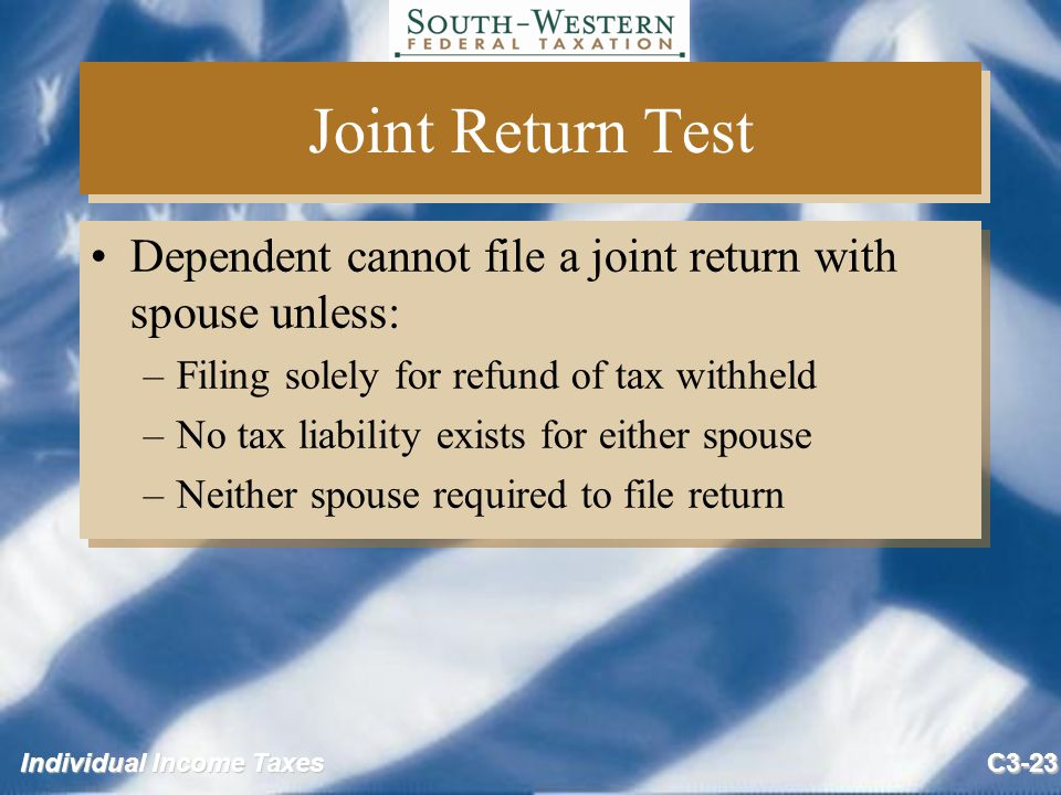 Does My Dependent Need to File a Tax Return?