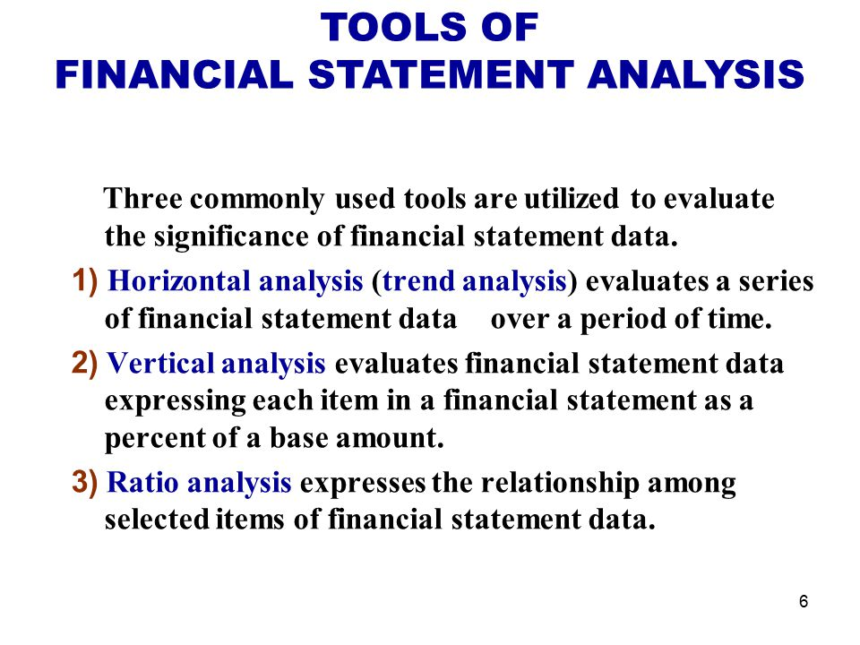 Financial Statement Analysis  Ppt Video Online Download
