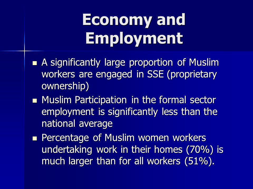 Economy and Employment