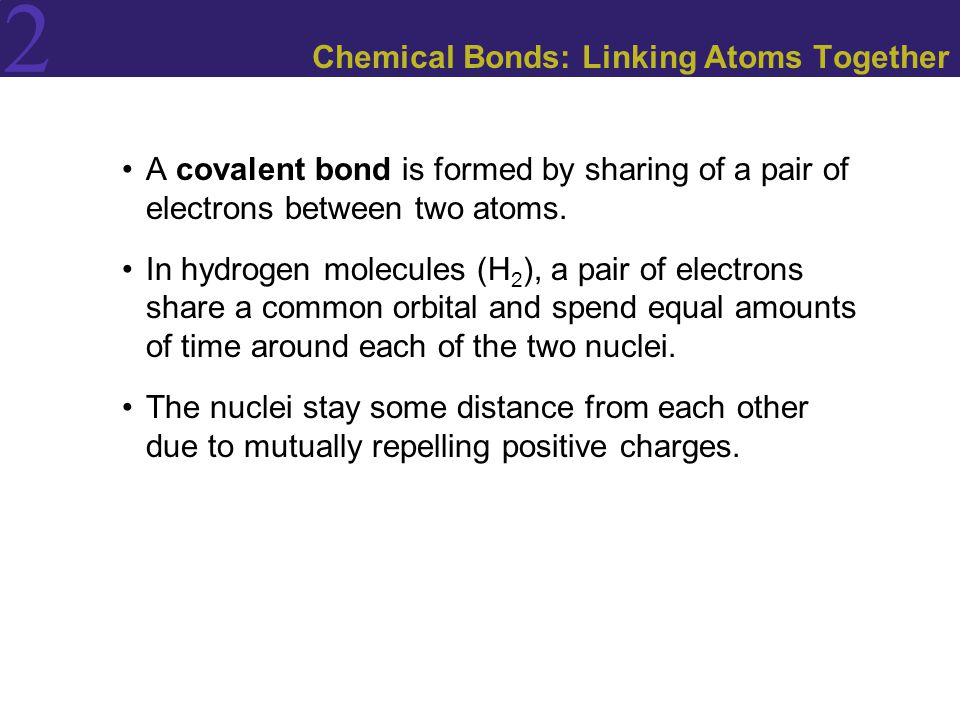 Chemical Bonds: Linking Atoms Together