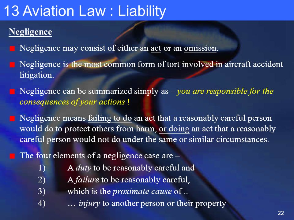393SYS Airport Engineering Practice Lecture 13 Aviation Law - ppt ...