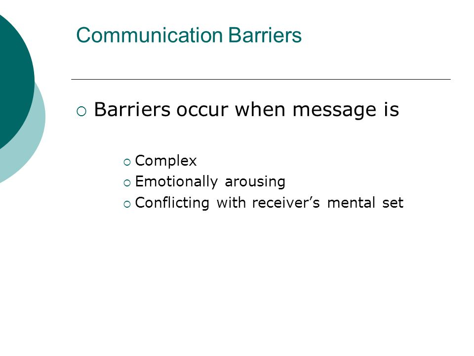 overcoming barriers to communication pdf