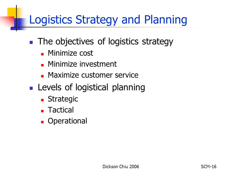 Starting a Logistics Company – Sample Business Plan Template