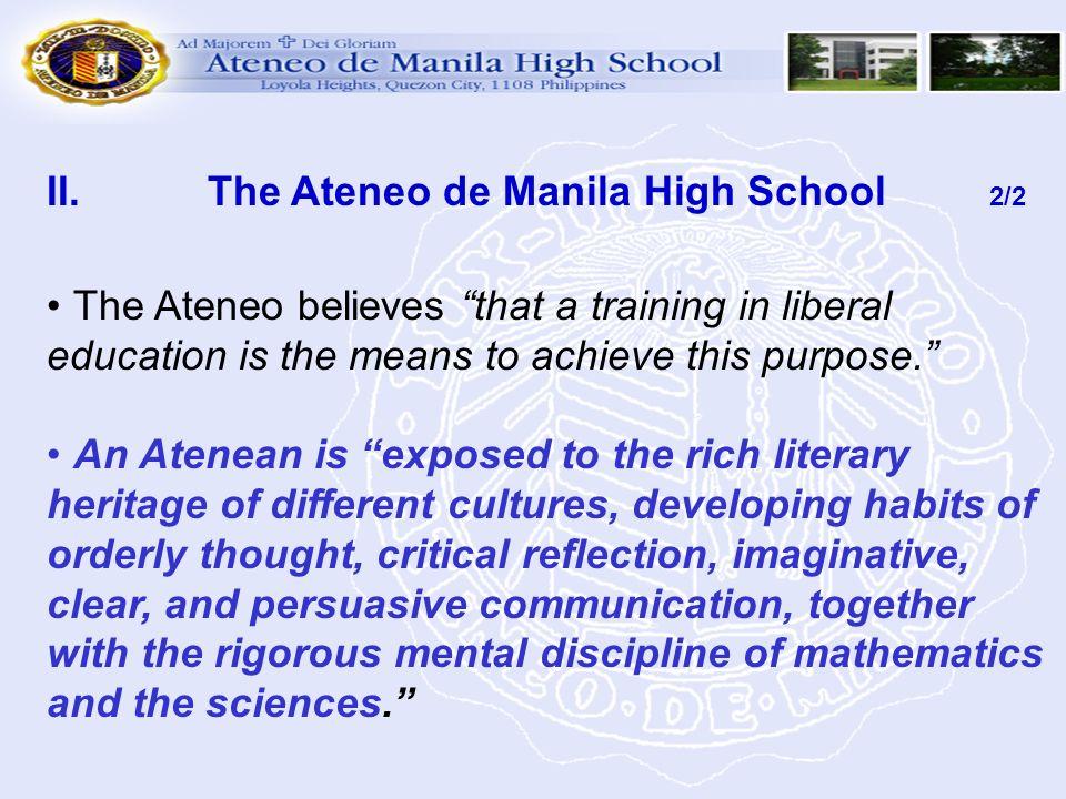 The Ateneo de Manila High School 2/2