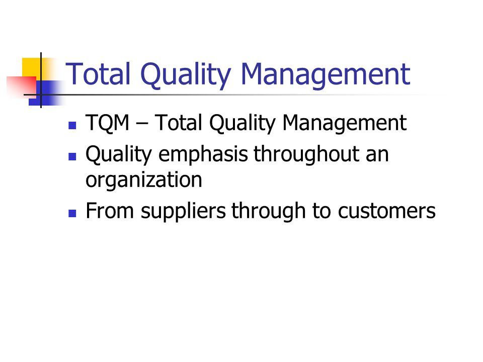total quality management tqm in organizations essay Essay writing examples: total quality management quality management practices in organizations your own total quality management essay sample or any.