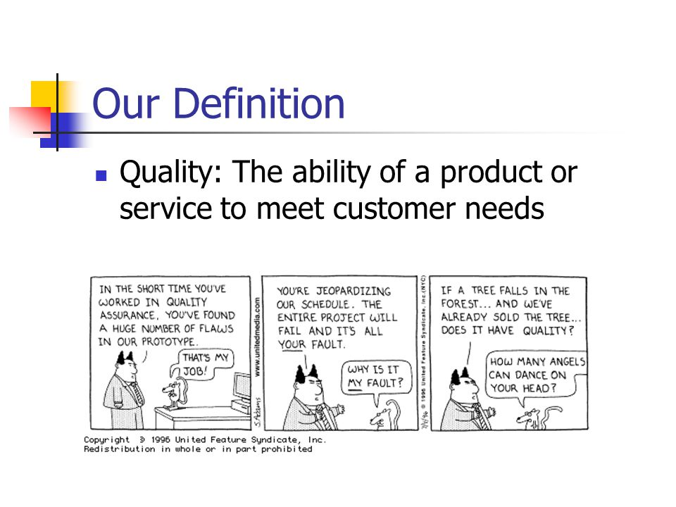 services ability to meet customer needs