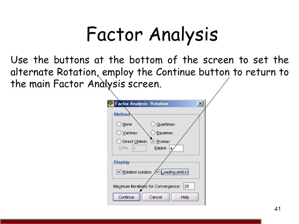 factor analysis Other articles where factor analysis is discussed: sir cyril burt:play in psychological testing (factor analysis involves the extraction of small numbers of independent factors from a large group of intercorrelated measurements).