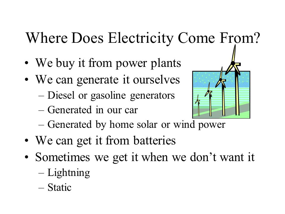 how to generate electricity from wind at home pdf