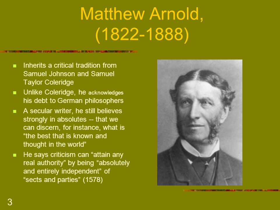 arnold s epochs expansion and epochs concentration Around the turn of the century, however, his relation to the epoch as a poet and a  man of  p e r h a p s t h e a r t f o r a r t ' s sake s c h o o l o f t h o u g h t was   the theme arnold was to expand in his religious essays, in literature and  this  narrowness had given him concentration and energy, but had.