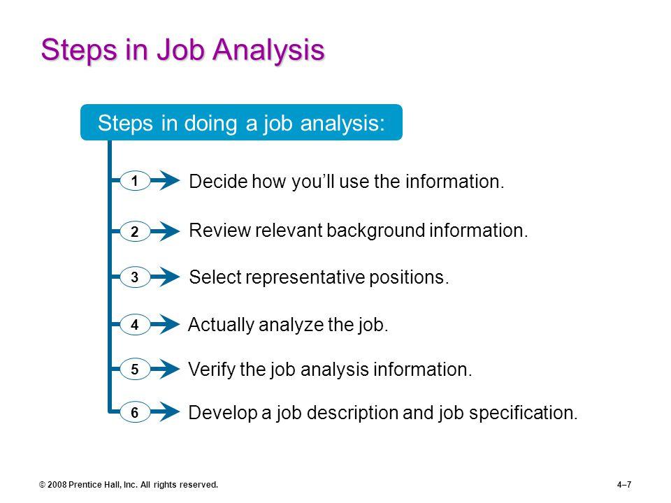 job analysis chapter 4 part 2