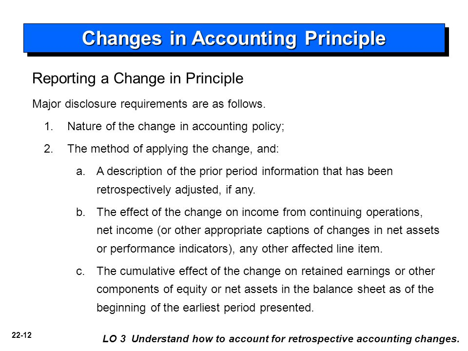 effects of changes in accounting technicians What an accounting excellence  launched an inquiry into automation's future potential effects within  the aim of many of these changes is to support.