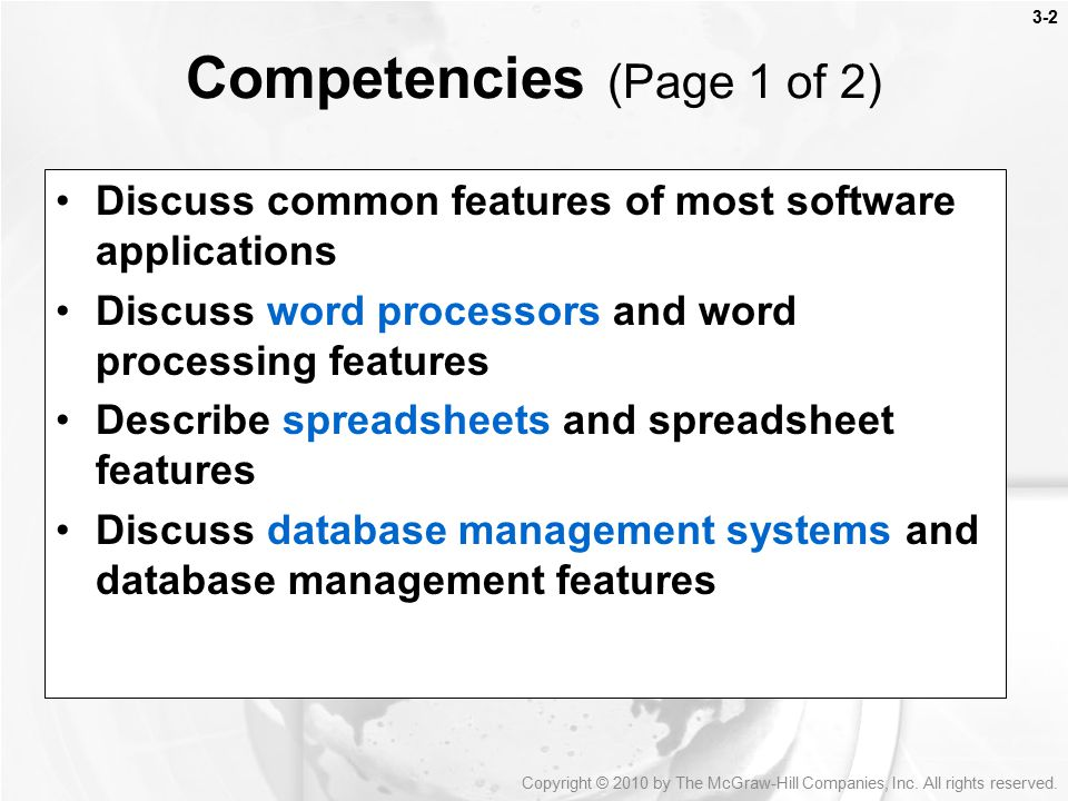 features of database management system pdf