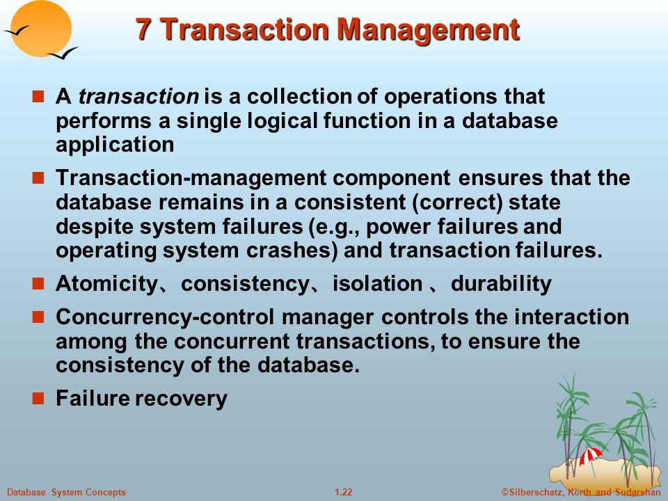 7 Transaction Management