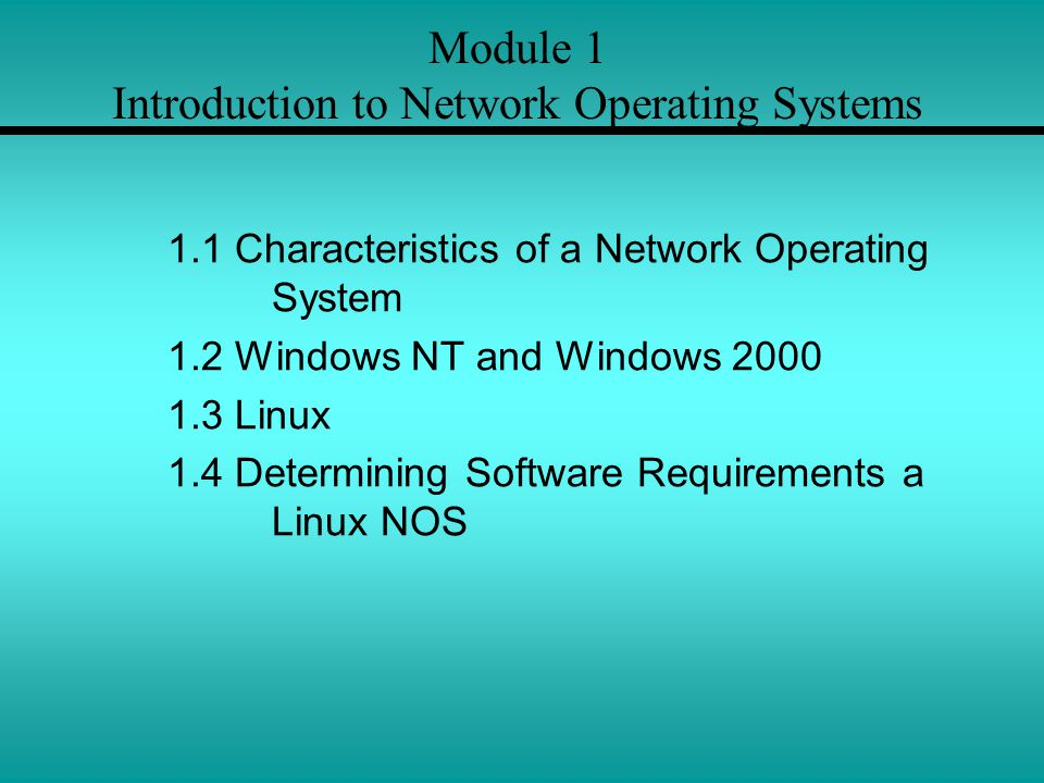 a study on linux and windows nt operating systems Network operating system features and functions learn what is a network operating system and features offered by popular network operating systems (such as linux, unix, netware, apple mac and windows server) with functions.