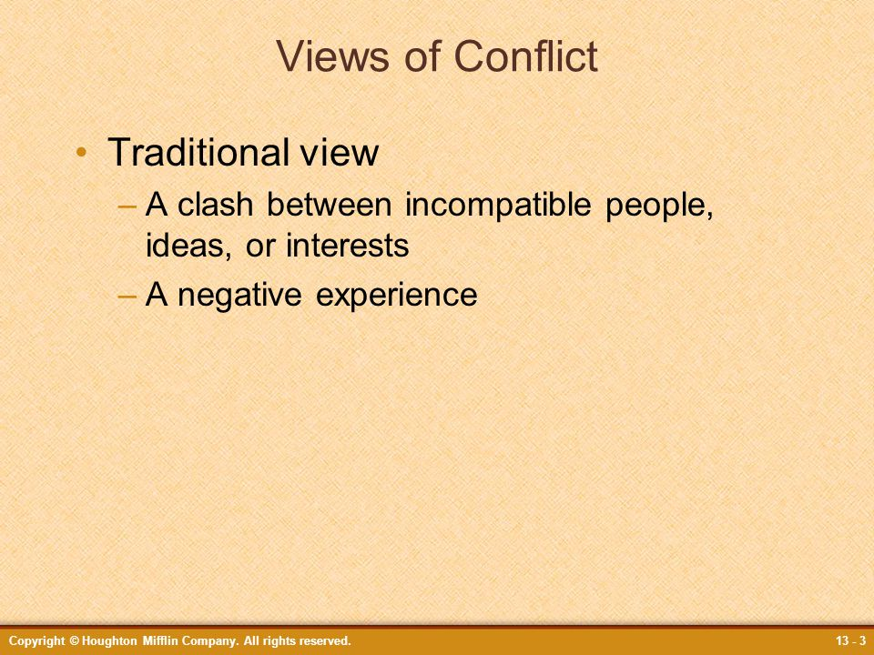 traditional conflict view Endalcachew bayeh et al traditional conflict resolution as a better option to court proceeding: an attitude and practice in ambo town.