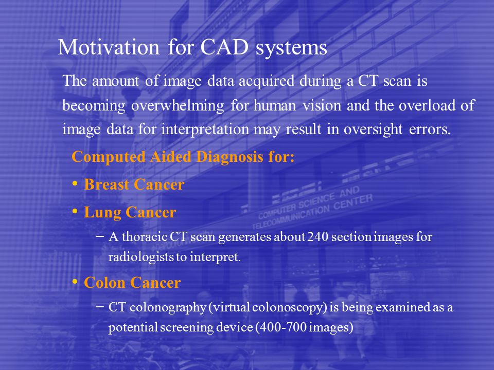 Applications Of Machine Learning To Medical Imaging Ppt