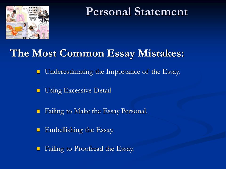 creative personal statement essay