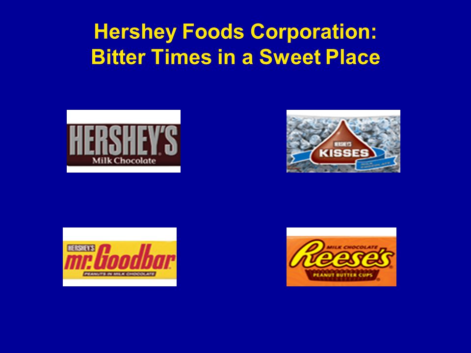 an overview of the hershey foods corporation