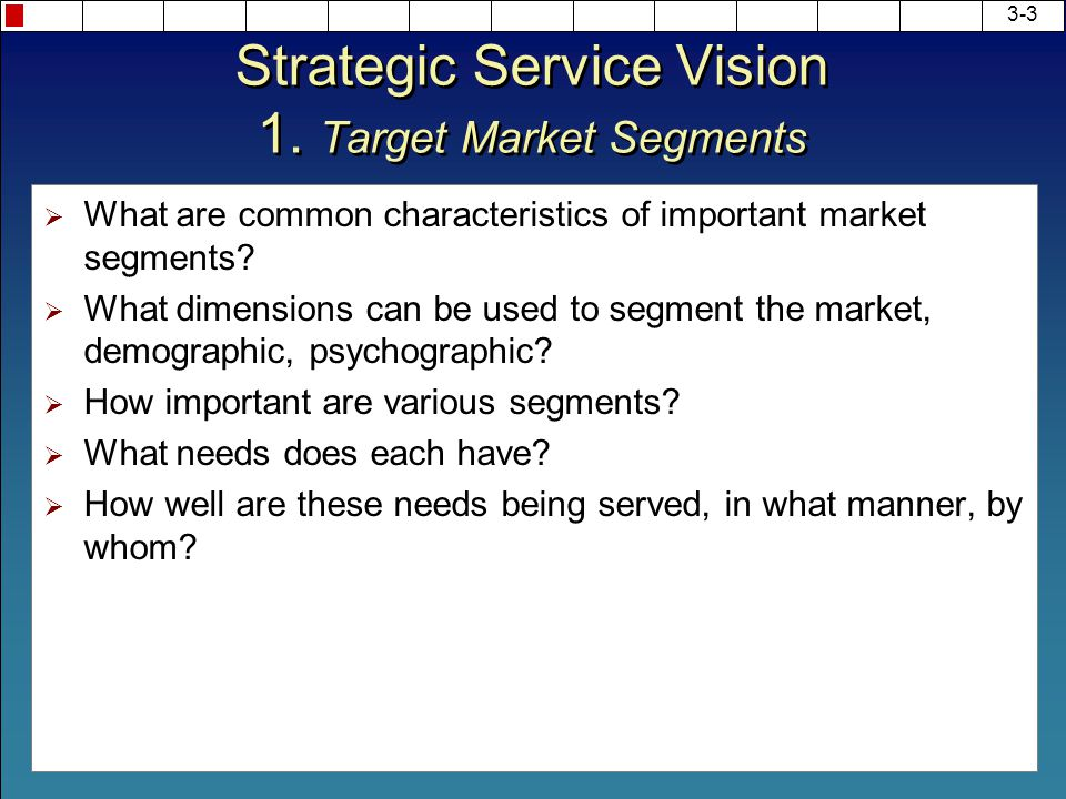 strategic service vision heskett Cases kidzania: shaping a strategic service vision for the future james l heskett javier reynoso karla cabrera.