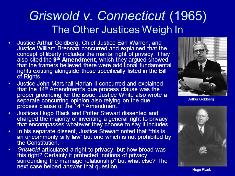 griswold vs connecticut essay Each essay should be at least 500 words in length  case study: discuss the case-griswold vs connecticut reference no:- tgs01992164 now priced at $45.
