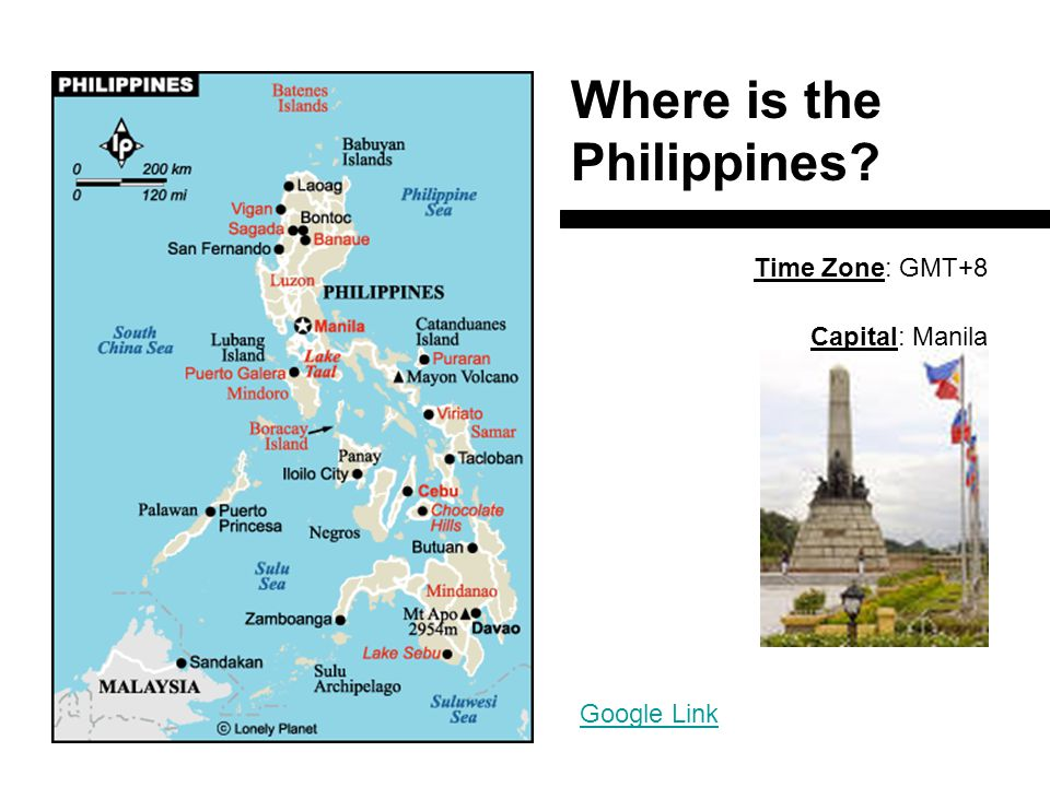 The Philippines General Information Language Session ...