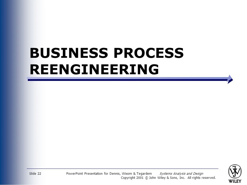 an analysis of the process of reengineering of a business corporation Business process reengineering involves the radical redesign of core business processes to achieve dramatic improvements in.